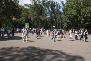 Пикет 10 августа ©Фото Дмитрия Пославского, Юга.ру