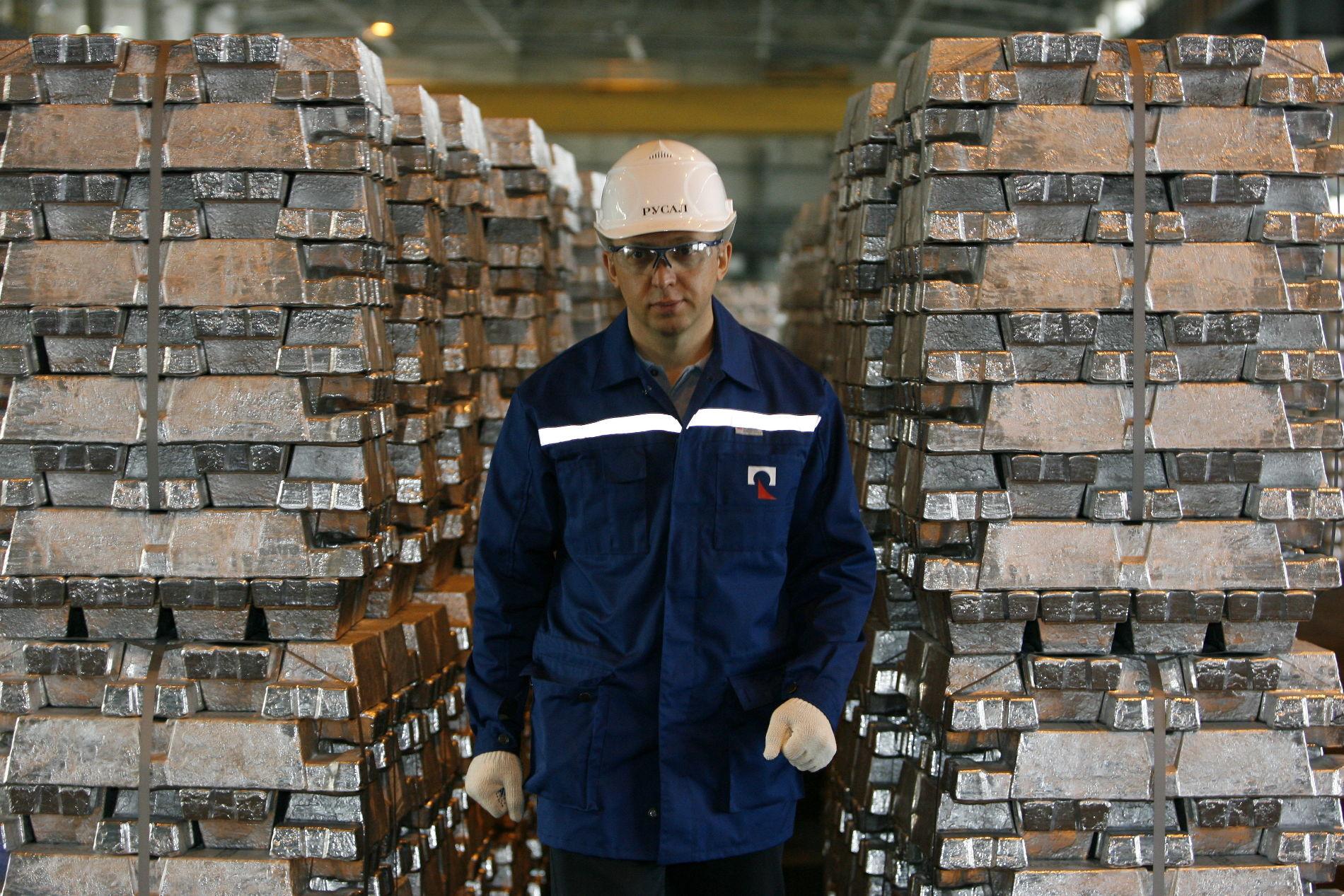 На Красноярском алюминиевом заводе ©Фото пресс-службы компании «Базовый Элемент»