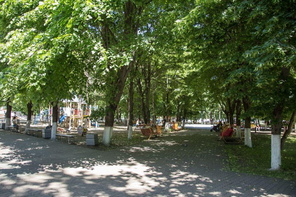 Сквер «Фестивальный» ©Фото пресс-службы администрации Краснодара