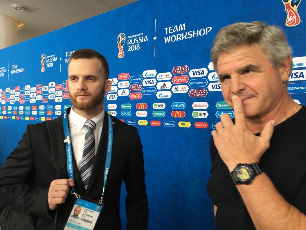 Тренер сборной Уругвая: «Высоко оценили игру сборной РФ сИспанией»