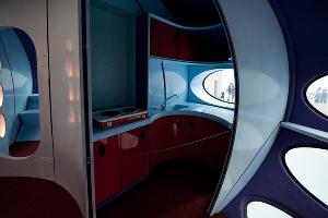 Дом Futuro в Музее Бойманса — ван Бенингена в Роттердаме ©Фото с сайта flickr.com/photos/happyfamousartists/with/5786689816/