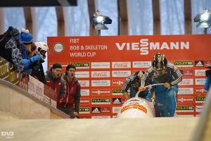 Чемпионат мира по бобслею в Сочи: Мужчины. Двойки ©Елена Синеок, ЮГА.ру
