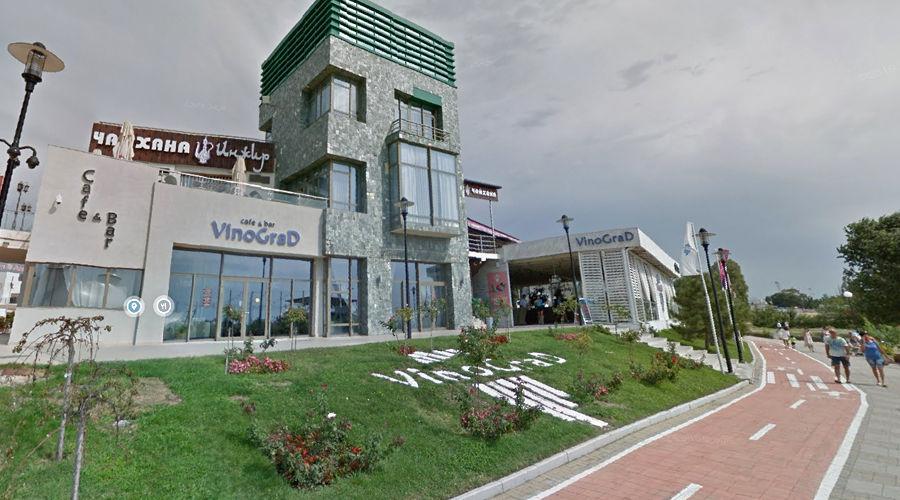Кафе VinoGrad в Адлере ©Скриншот с сайта Google.com/maps