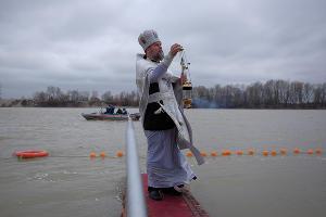 Крещение в Краснодаре ©Фото Николая Хижняка, Юга.ру