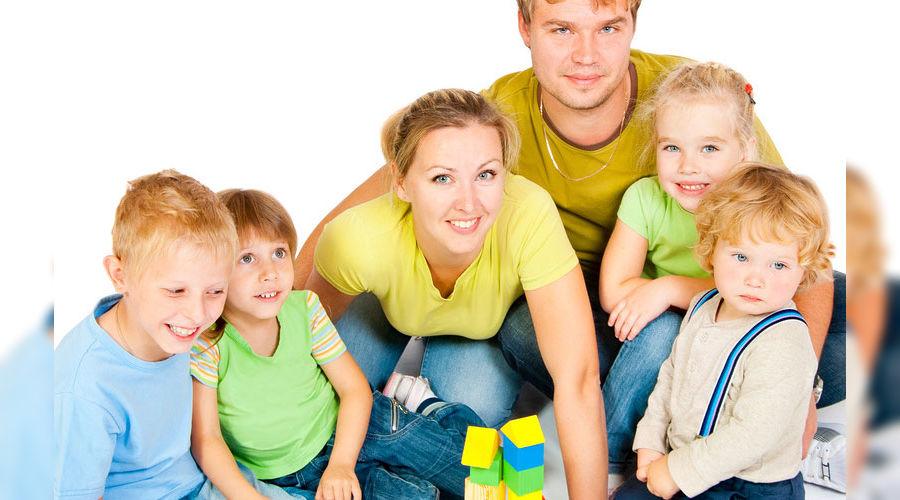 Многодетная семья ©deti.mail.ru