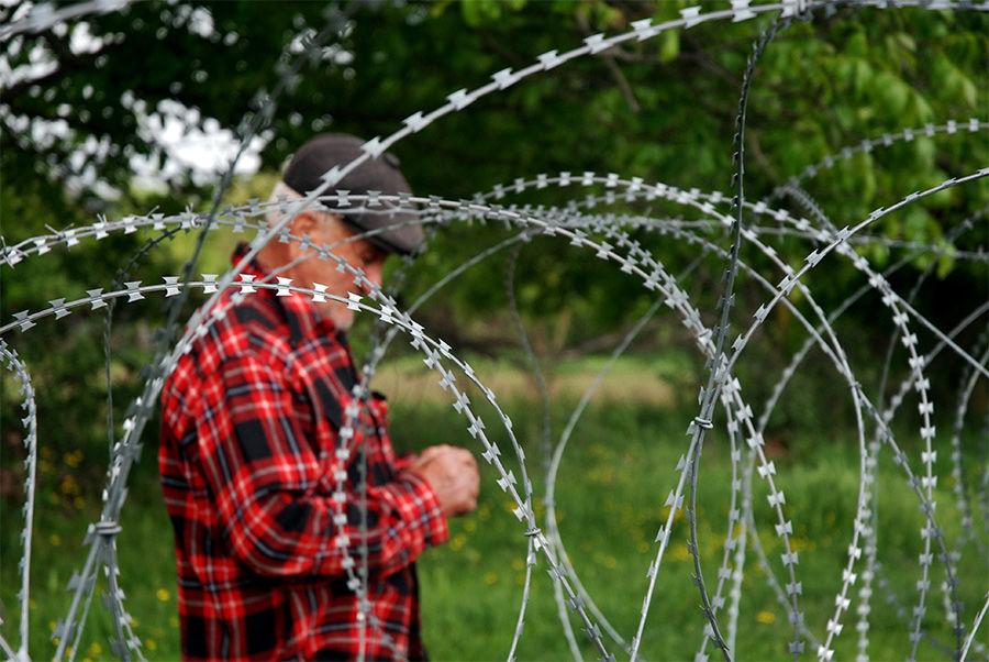 Грузинский фермер на границе ©Фото Jelger Groeneveld с сайта wikimedia.org