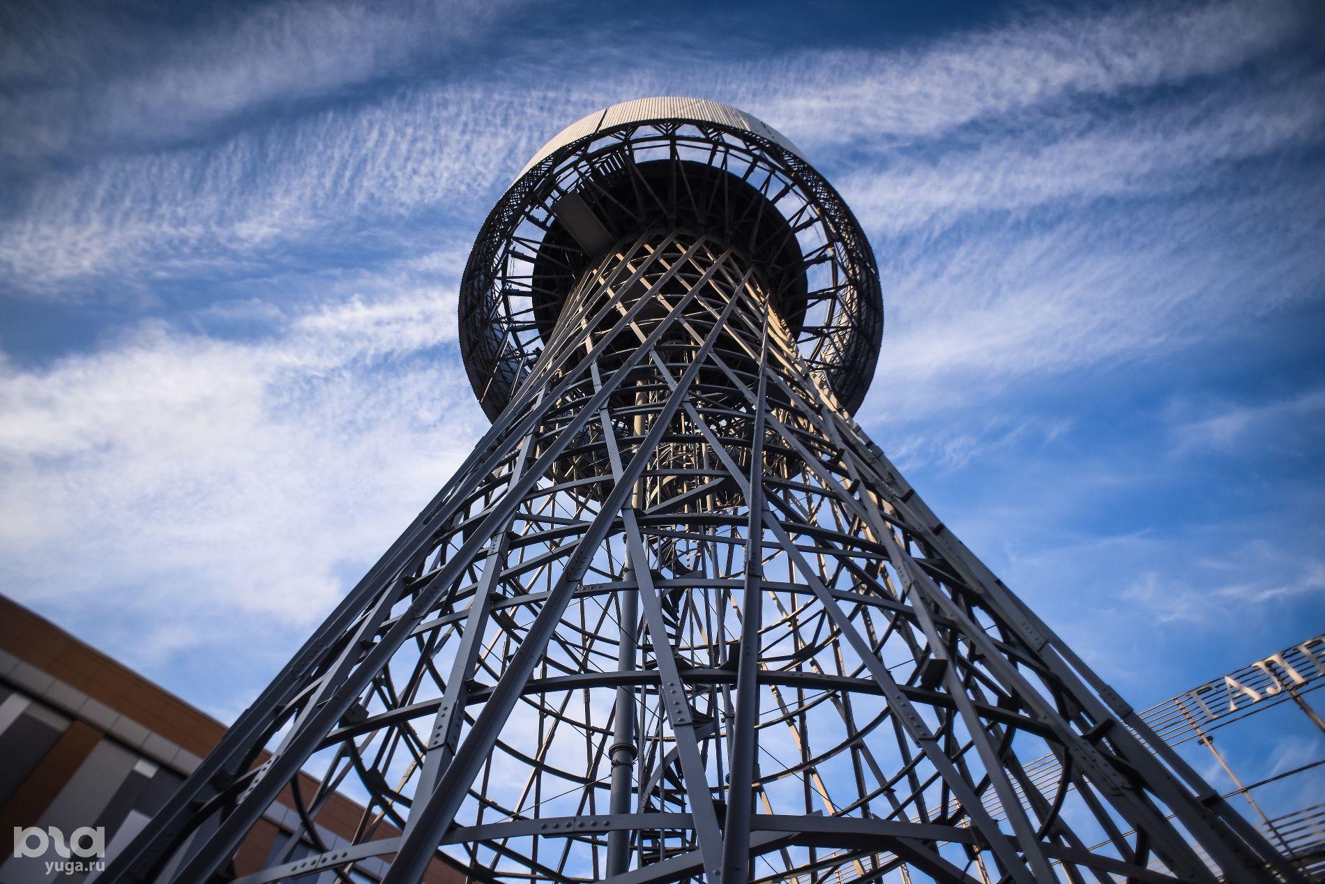 Шуховская башня в Краснодаре ©Фото Елены Синеок, Юга.ру