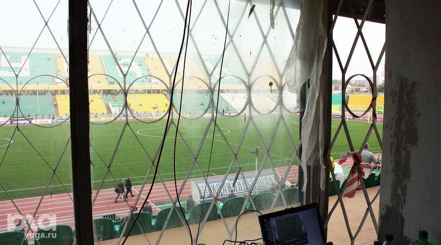 Стадион «Кубань» в 2009 году ©Фото Дмитрия Пославского, Юга.ру