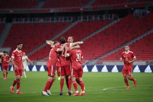 Матч Лиги наций Венгрия — Россия ©Фото пресс-службы Российского футбольного союза