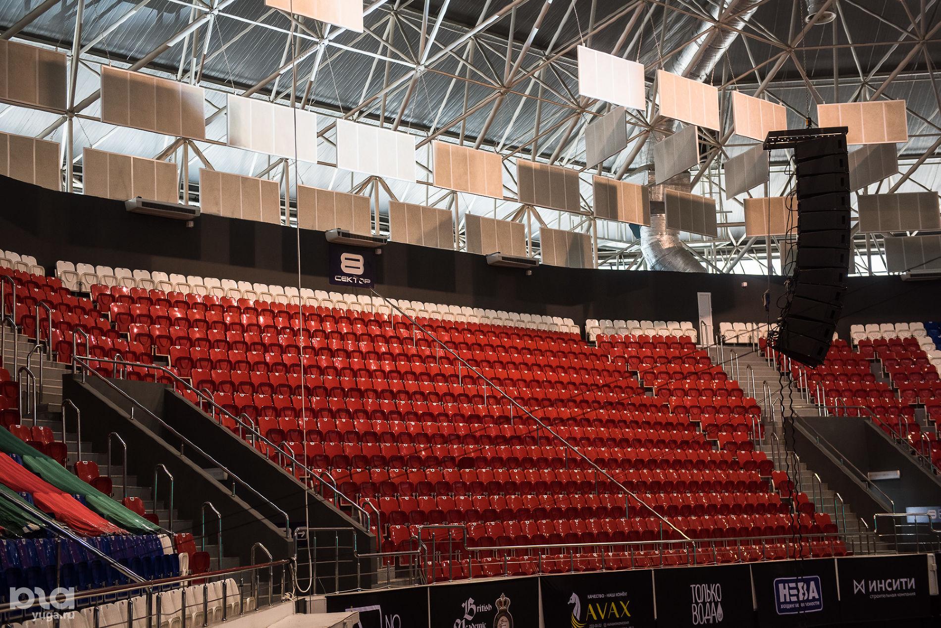 На главной арене «Баскет-холл» ©Фото Елены Синеок, Юга.ру