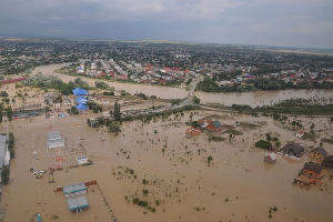 Наводнение в Крымске ©http://vk.com/id160960523