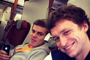 Павел Мамаев и Александр Кокорин ©Фото из социальных сетей футболистов