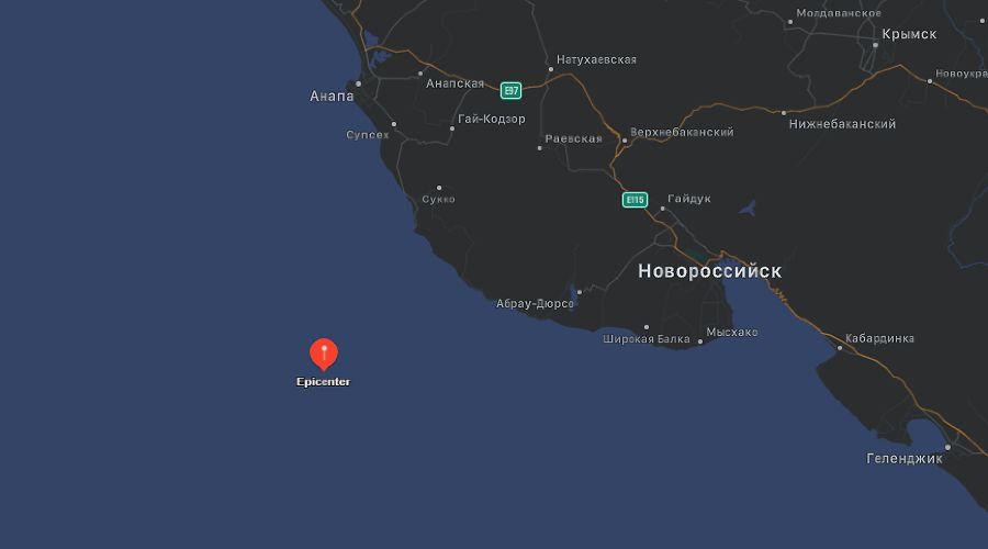 ©Скриншот с сайта My Earthquake Alerts, myearthquakealerts.com