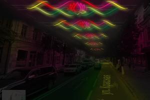 Конкурсная работа по иллюминации улицы Красной ©Юга.ру