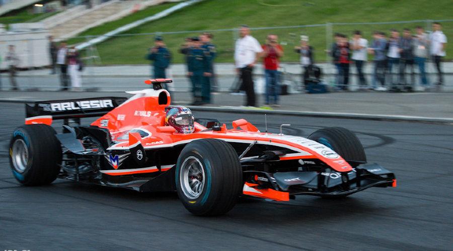 """Автоспортивное шоу """"Формула Сочи 2013"""" в Олимпийском парке  ©Нина Зотина, ЮГА.ру"""