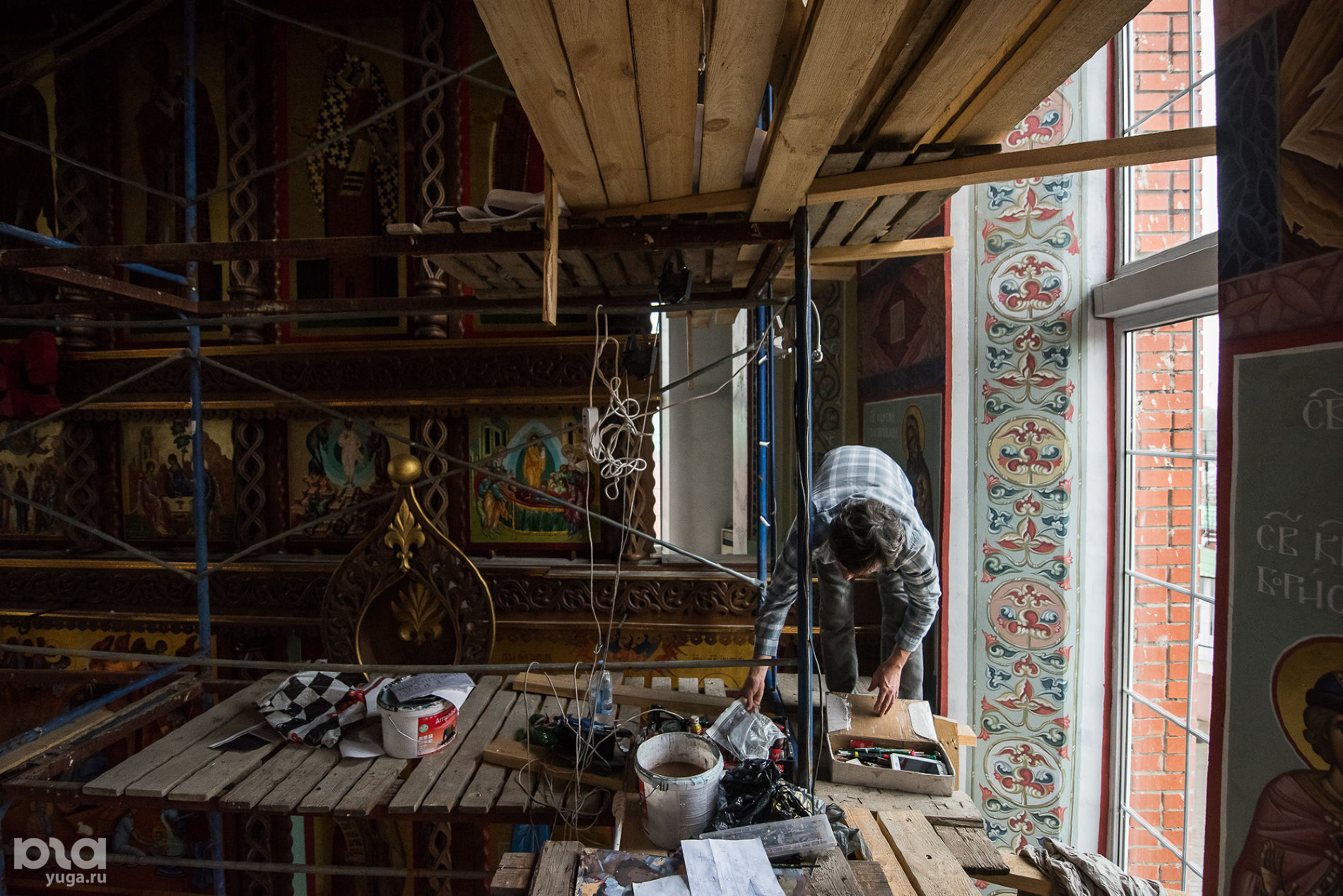 В Рождественском храме ©Фото Елены Синеок, Юга.ру