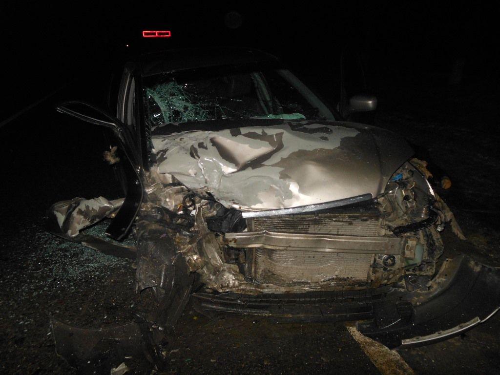 ВАрмавире влобовом ДТП умер шофёр иномарки итрое пострадали