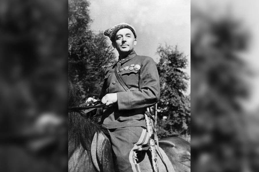 Командир 4-го гвардейского кавалерийского корпуса Н.Я. Кириченко ©Фото с сайта waralbum.ru