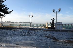 Новороссийск и Геленджик в борьбе со стихией ©Елена Синеок