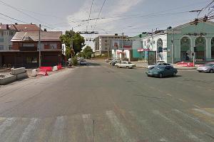 Перекресток улиц Северная и Тургенева в Краснодаре ©Скриншот панорамы карт Google