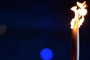 Церемония открытия XXII зимних Олимпийских игр. Александр Карелин ©РИА Новости