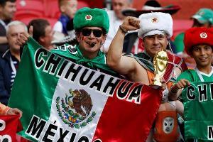 Болельщики из Мексики  ©Фото с сайта ru.rfi.fr