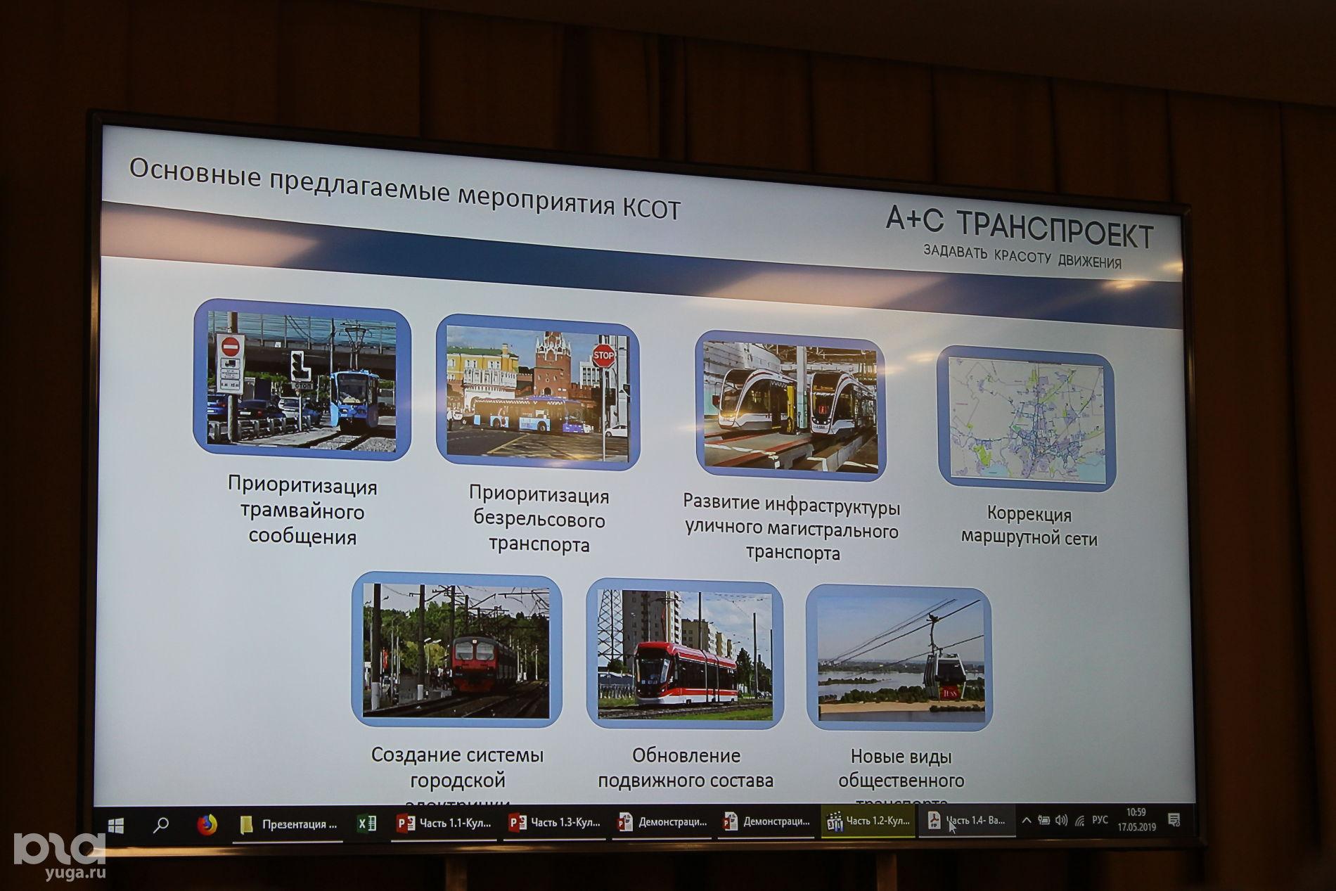 Презентация транспортной стратегии Краснодара ©Фото Юга.ру