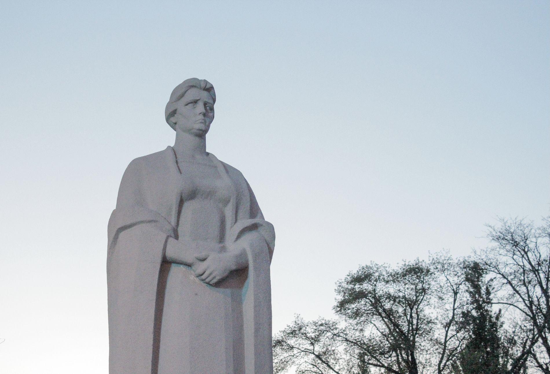 Статуя Родины-матери ©Фото Динара Бурангулова, Юга.ру