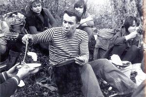 Руслан Шмаков, руководитель туристских походов, фото семидесятых годов ©Фото из архива Руслана Шмакова