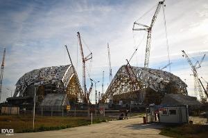 """Олимпийский стадион """"Фишт"""" ©Елена Синеок, ЮГА.ру"""