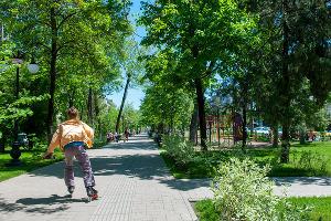 Гагаринский бульвар ©Фото Дмитрия Пославского, Юга.ру