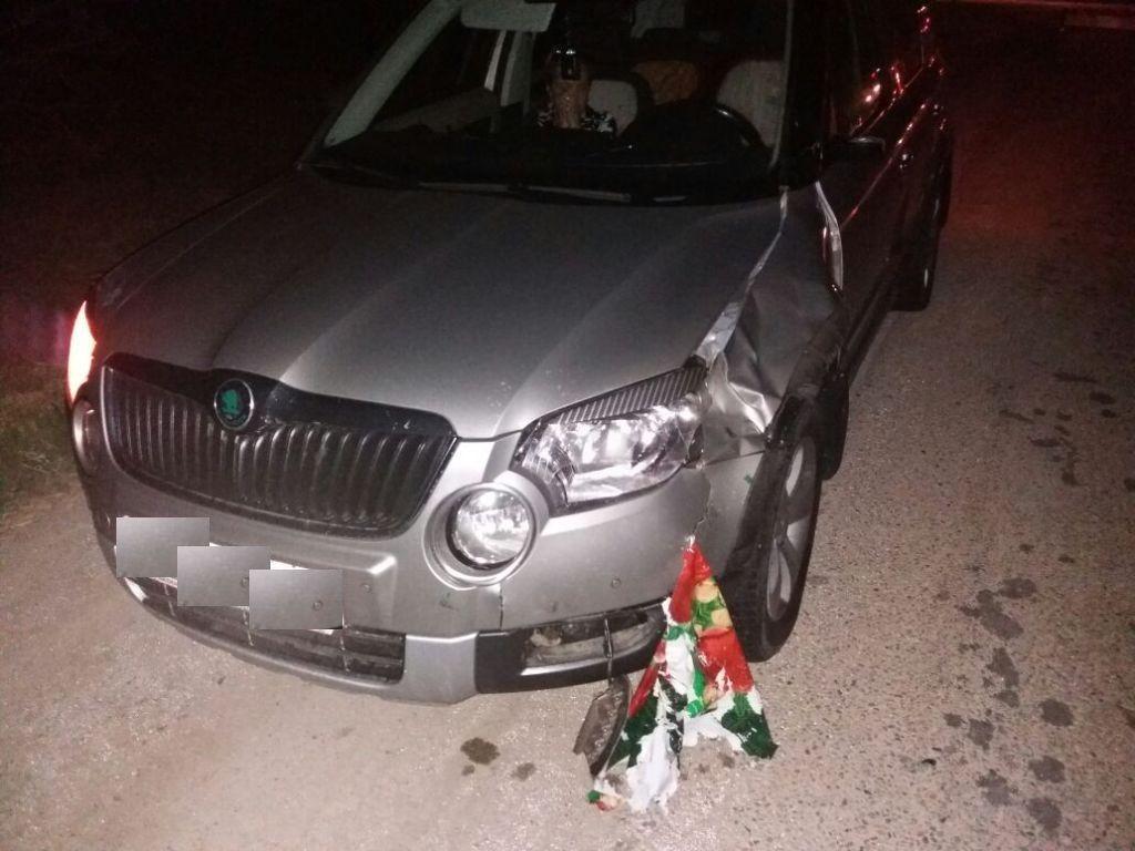 НаКубани перебегавшая дорогу женщина угодила под колеса 2-х машин