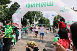 «Зеленый марафон» в Краснодаре ©Фото предоставлено пресс-службой Сбербанка
