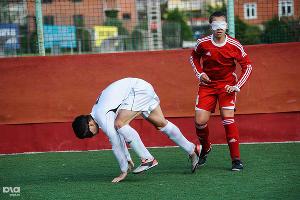 Турнир по футболу среди слепых в Сочи ©Нина Зотина, ЮГА.ру