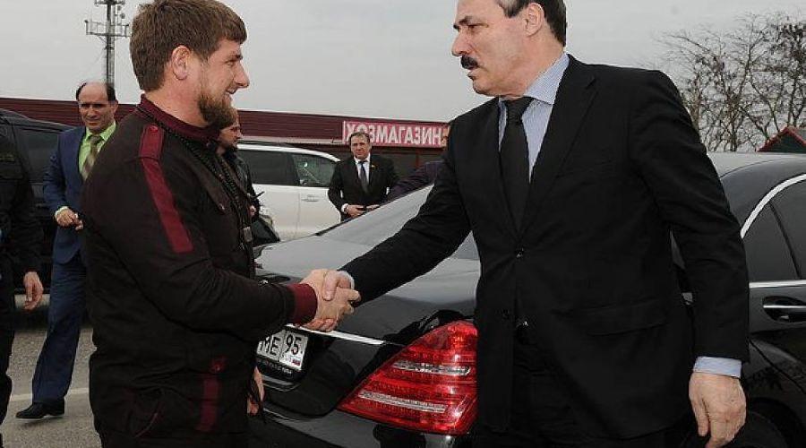 Рамзан Кадыров и Рамазан Абдулатипов ©http://kavpolit.com