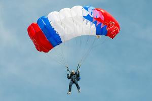 Поисково-спасательные учения парашютисты в Южном военном округе ©Фото Антона Гарника, Юга.ру