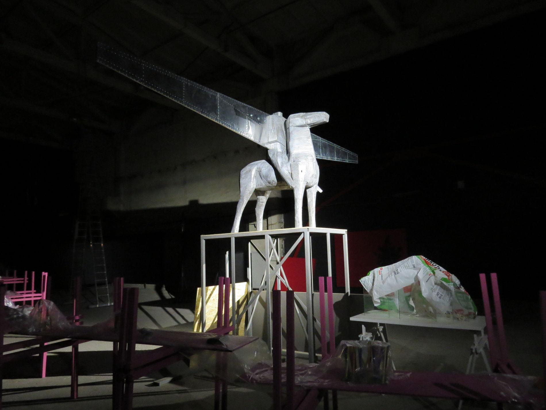 Скульптура Валерия Пчелина Skyman-2
