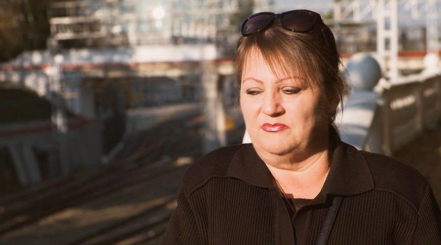 Оксана Севастиди ©Скриншот видео с сайта russian.rt.com