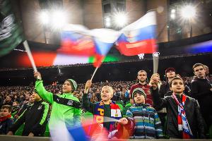 Сборная России по футболу проиграла Кот-д'Ивуару в Краснодаре ©Фото Елены Синеок, Юга.ру