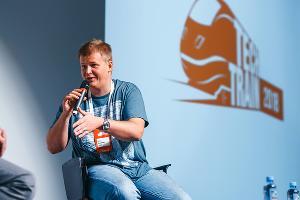 Иван Ямщиков на фестивале TechTrain, сентябрь 2018 года ©Фото предоставлено организаторами фестиваля