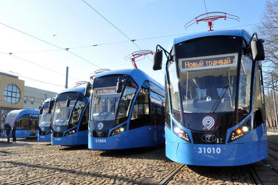 Трамвай «Витязь-М» ©Фото пресс-службы ПК «Транспортные системы»