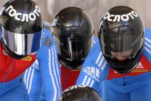Соревнования по бобслею и скелетону в Красной поляне ©Михаил Мордасов. ЮГА.ру