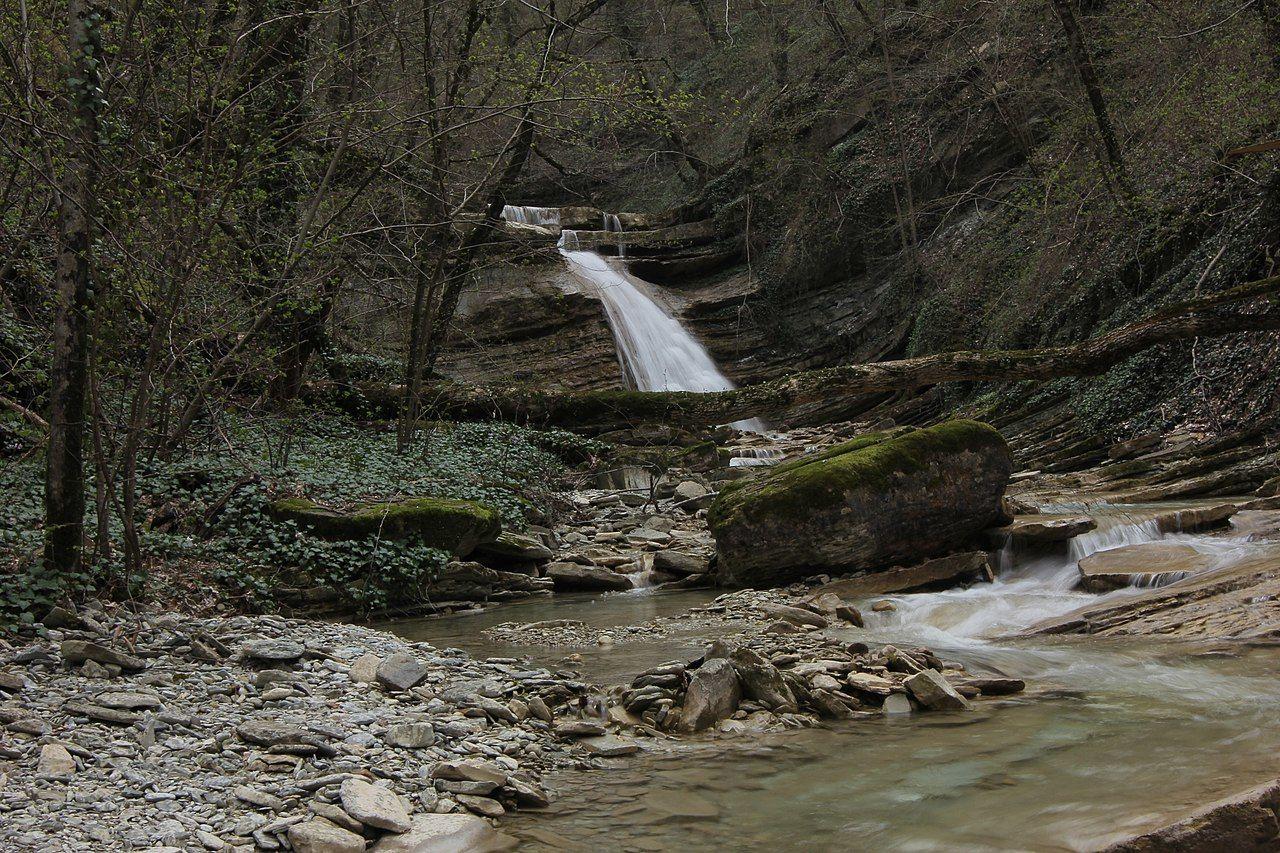 Плесецкие водопады ©Фото MarOleg, wikipedia.org