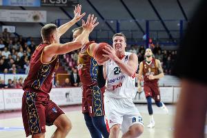 Матч Еврокубка «Умана Рейер» — «Локомотив-Кубань» ©Фото с сайта www.eurocupbasketball.com