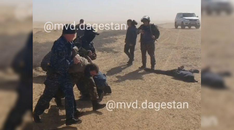 ©Скриншот видео из инстаграма МВД России по Дагестану