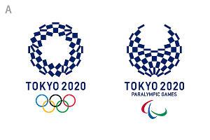 Вариант эмблемы Игр-2020 в Токио ©tokyo2020.jp