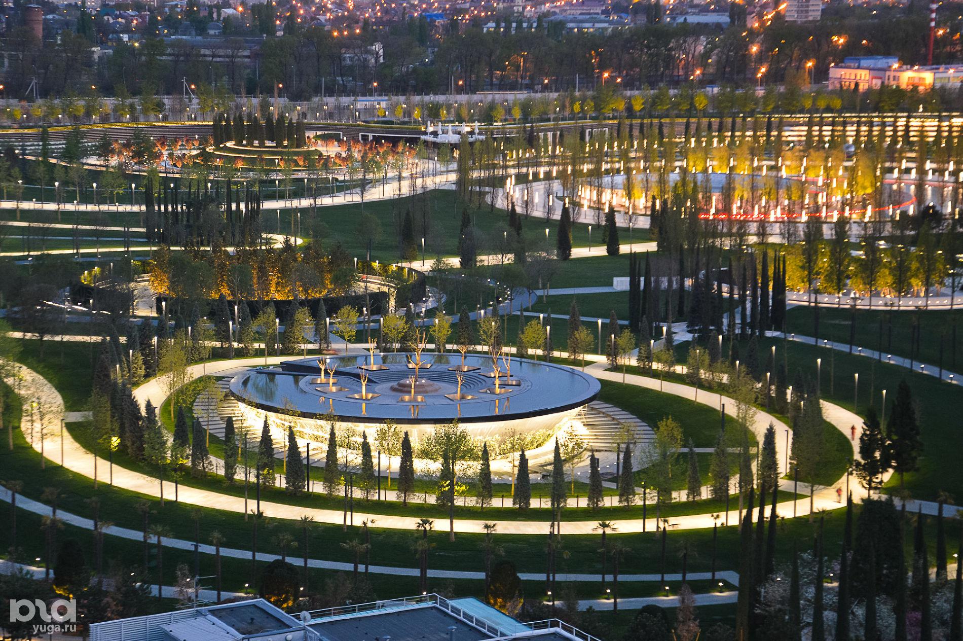 парк возле стадиона краснодар фото отвечает сбор