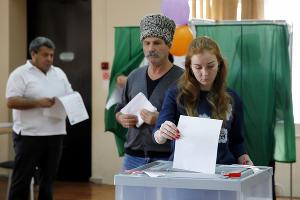 Единый день голосования в Краснодаре ©Влад Александров, ЮГА.ру