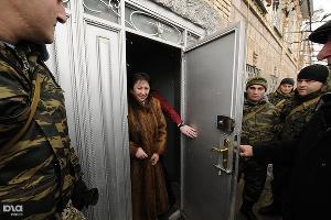Противостояние после выборов в Южной Осетии. Алла Джиоева ©Сергей Карпов. ЮГА.ру