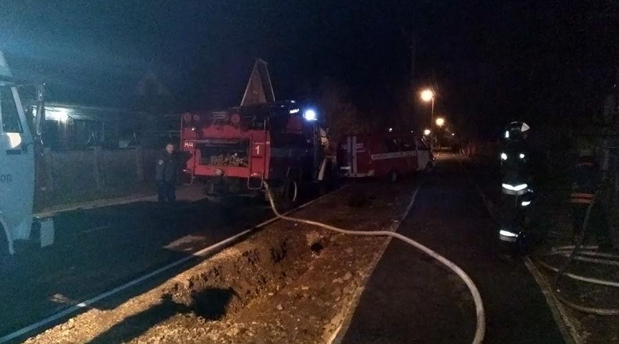 Три человека погибли напожаре вАдыгее